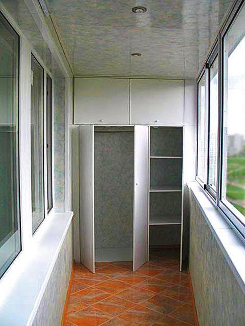 Ремонт балкона отделка своими руками
