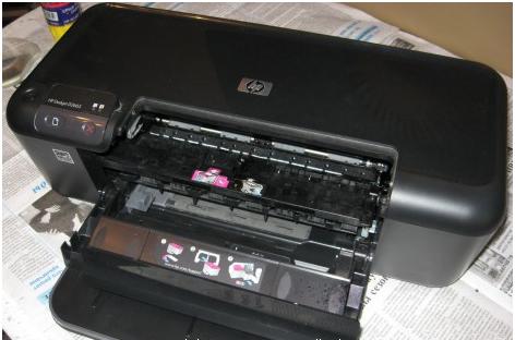 Ремонт струйного принтера hp своими руками