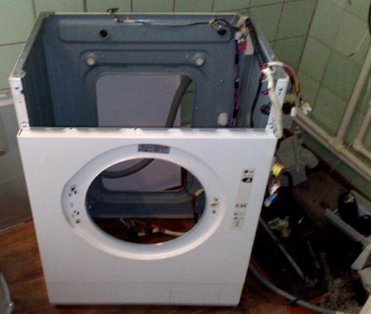 Ремонт стиральных машин lg своими руками нет отжима