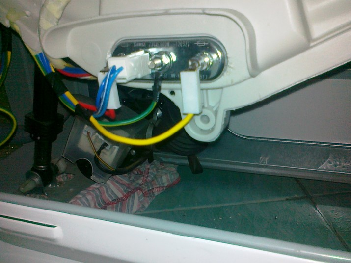 Замена тэна в стиральной машине lg своими