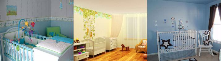 дизайн детской комнаты для мальчиков до 3 лет