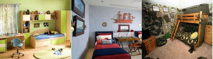 дизайн детской комнаты для мальчиков до 7 лет