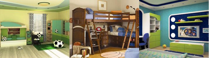 дизайн детской комнаты для мальчиков до 12 лет