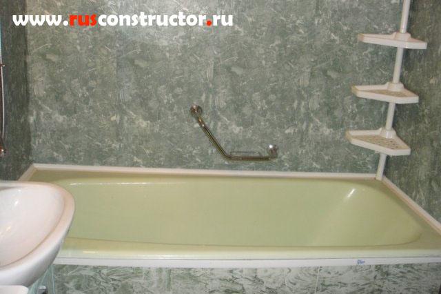 Панели в ванной своими руками фото
